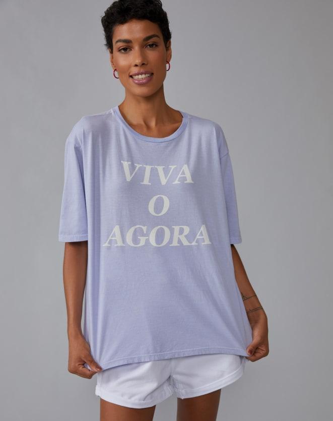 T-SHIRT VIVA O AGORA