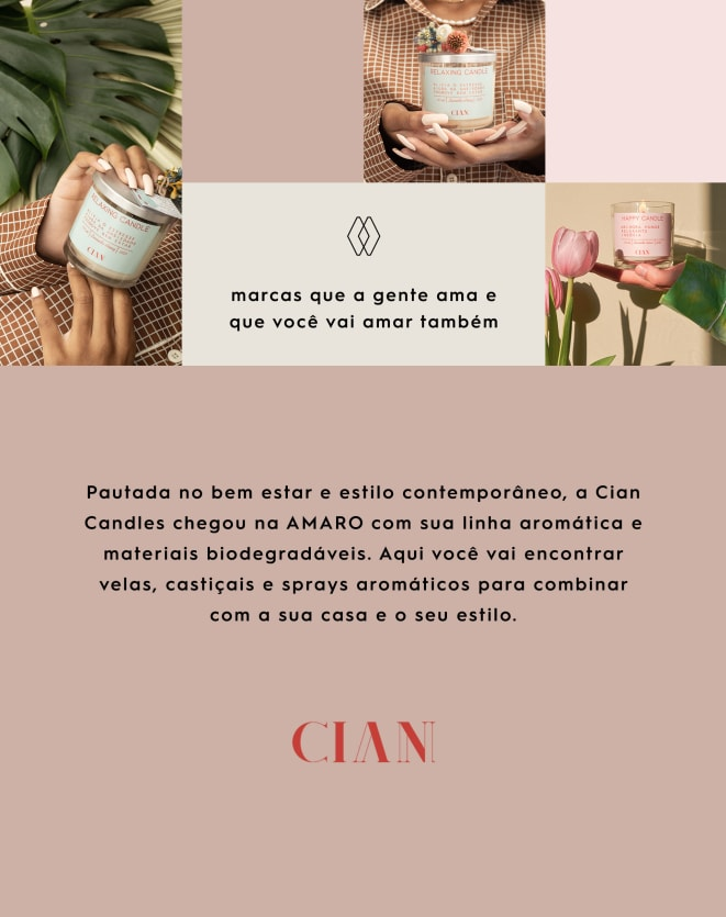 CIAN CANDLE SUMMER CANDLE - 500ML