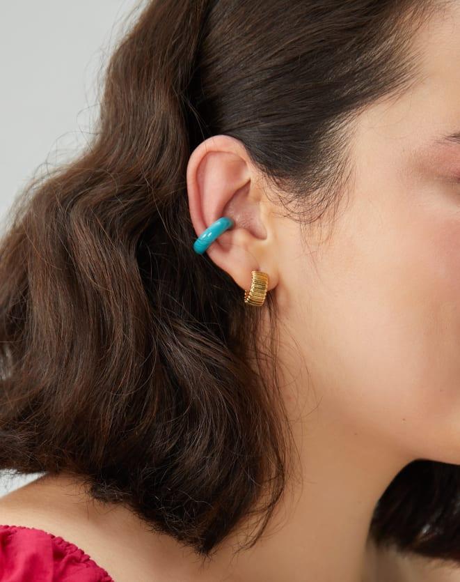 EAR CUFF ESMALTADO COLORIDO