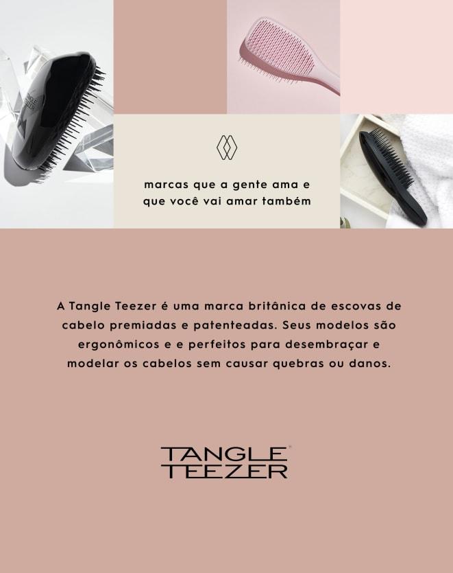 TANGLE TEEZER ESCOVA DE CABELO THE ORIGINAL THICK & CURLY VIOLET