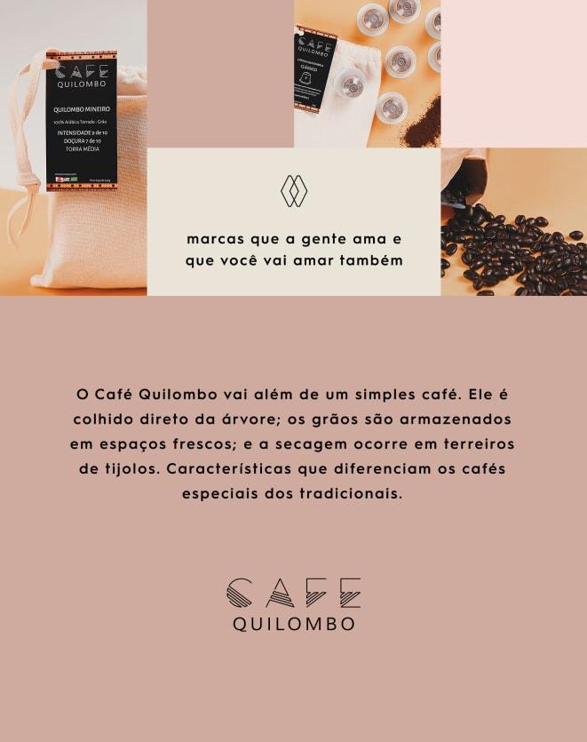 CAFÉ QUILOMBO CÁPSULA