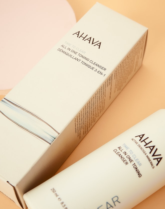 AHAVA ALL IN ONE TONING CLEANSER - 250ML