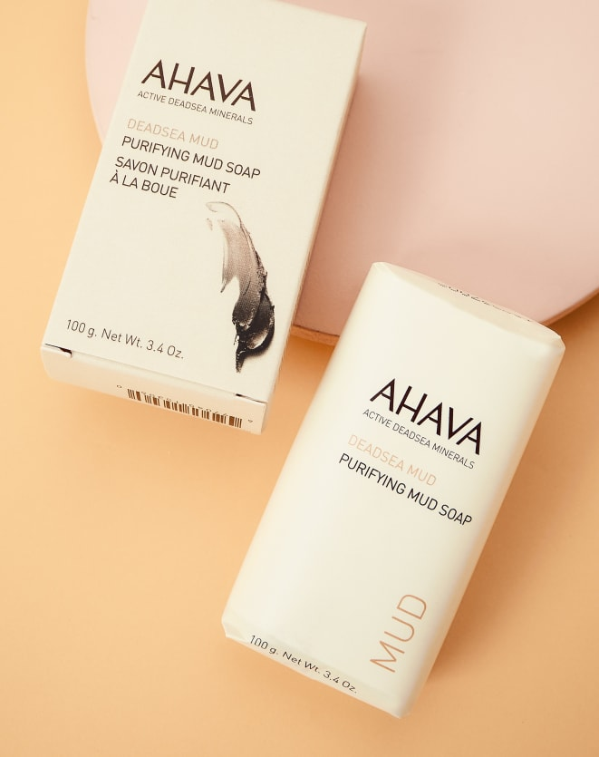 AHAVA MUD SOAP
