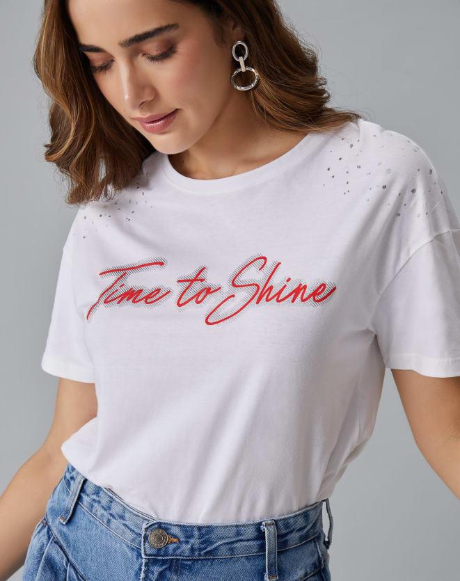 T-SHIRT TIME TO SHINE