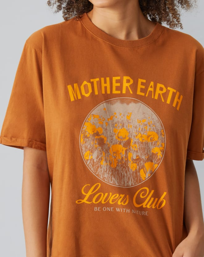 T-SHIRT MOTHER EARTH LOVERS CLUB