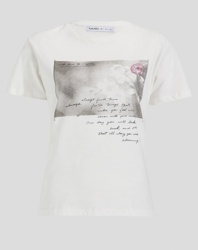 T-SHIRT WITH LOVE TO MYSELF
