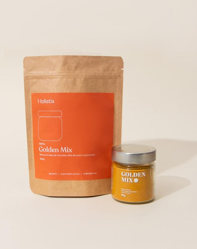 HOLISTIX REFIL GOLDEN - 200G