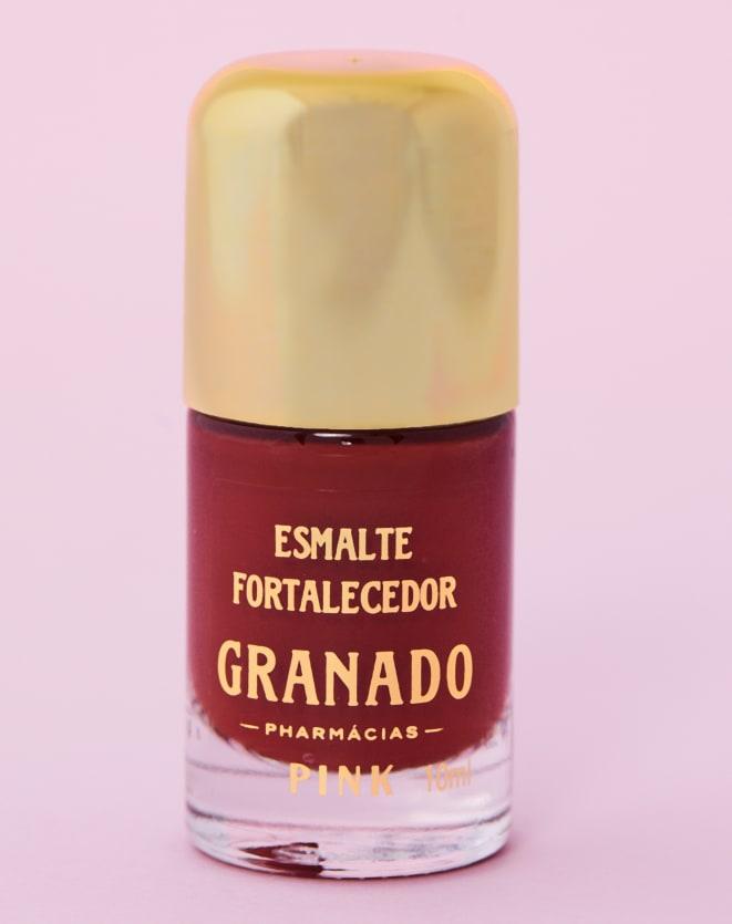 GRANADO ESMALTE HIPOALERGÊNICO FORTALECEDOR - 10ML