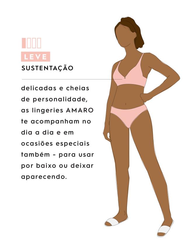 SUTIÃ ALÇAS REMOVÍVEIS ELASTICO LARGO