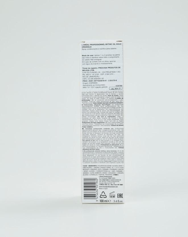 L'ORÉAL PROFESSIONNEL SÉRUM CAPILAR MYTHIC OIL - 100ML