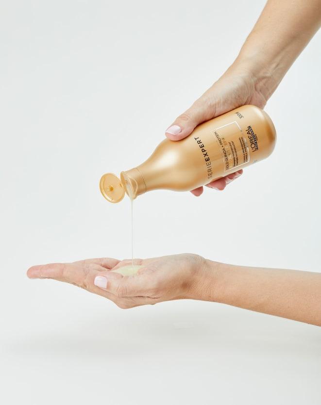 L'OREAL PROFESSIONNEL SHAMPOO SERIE EXPERT ABSOLUT REPAIR GOLD QUINOA + PROTEIN - 300ML