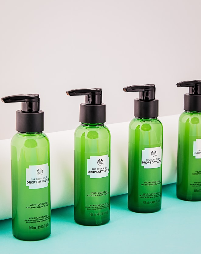 THE BODY SHOP PEELING LÍQUIDO DROPS OF YOUTH - 145ML