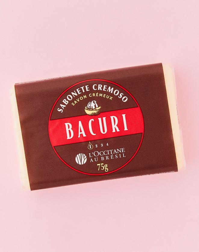 L'OCCITANE AU BRÉSIL BACURI SABONETE BARRA CREMOSO - 75G