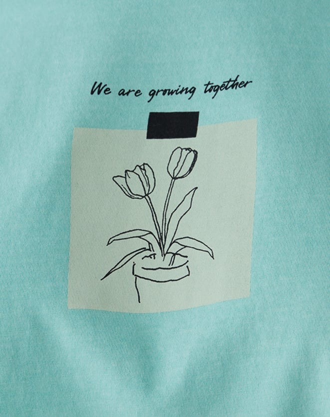 T-SHIRT WE ARE GROWING TOGETHER
