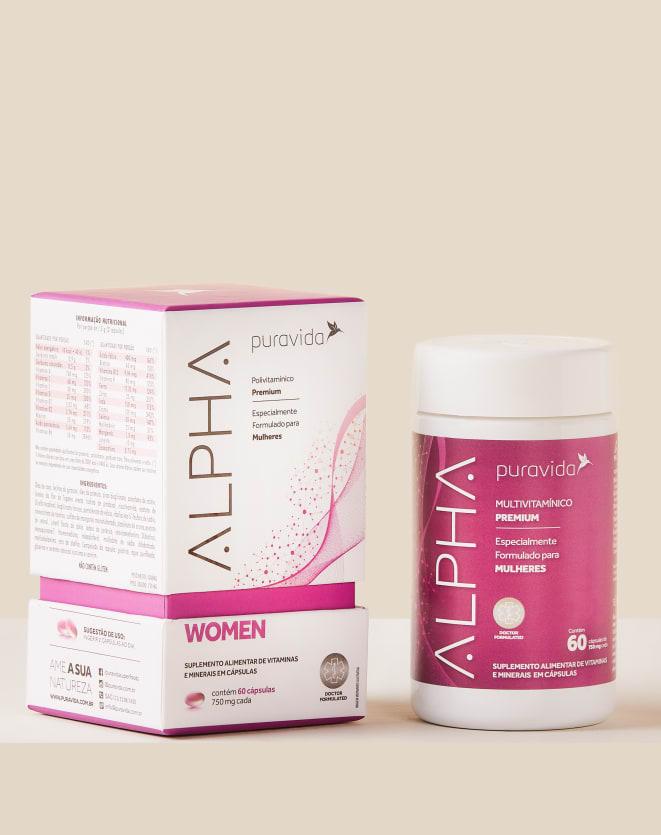 PURAVIDA ALPHA WOMEN - 60 CAPSULAS
