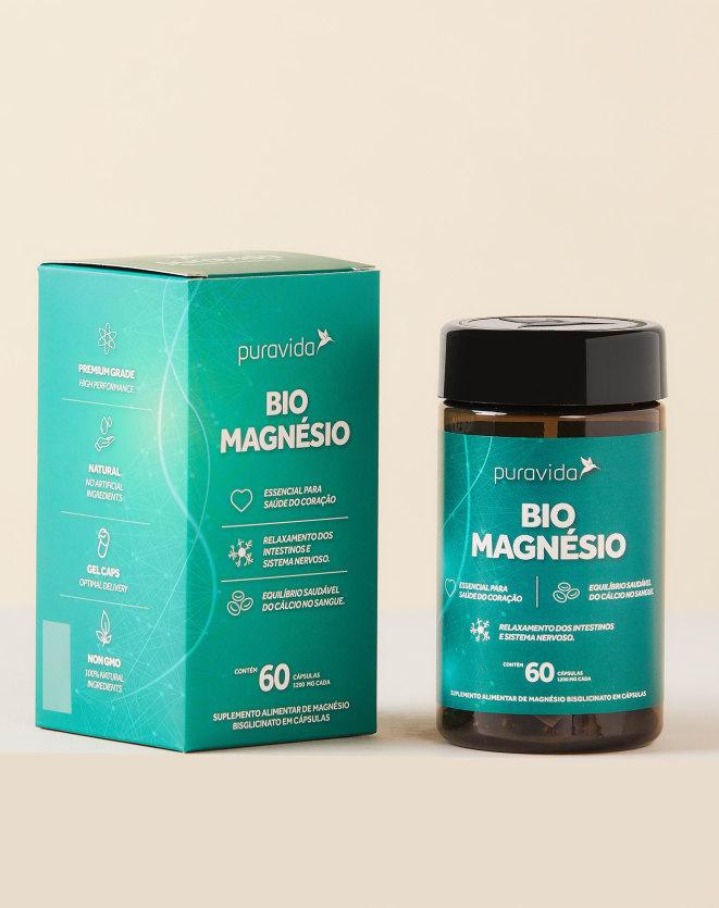 PURAVIDA BIO MAGNESIO - 60 CAPSULAS