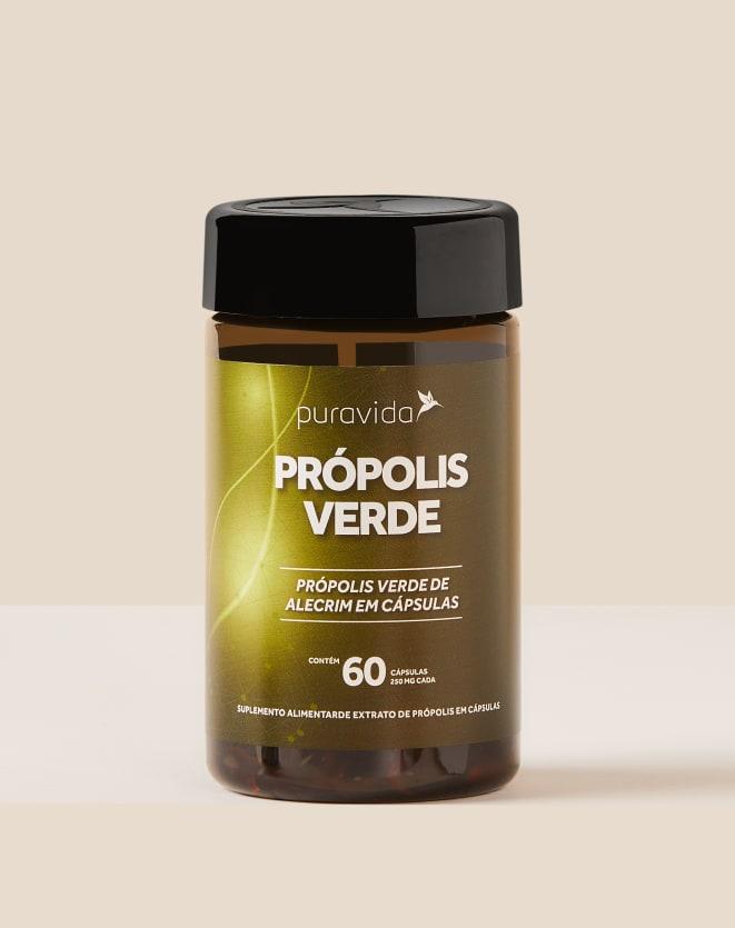PURAVIDA PRÓPOLIS VERDE - 60 CAPSULAS