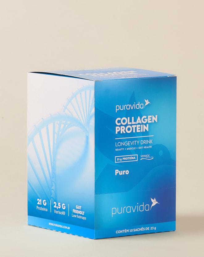 PURAVIDA COLLAGEN PROTEIN PURO BOX - 10UNI