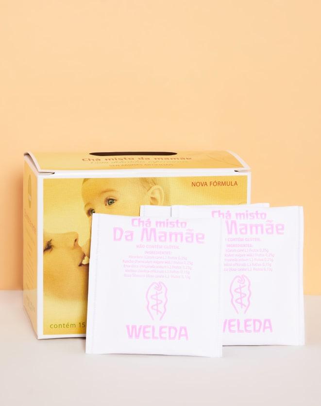 WELEDA CHÁ DA MAMÃE COM 15 SACHES - 22G
