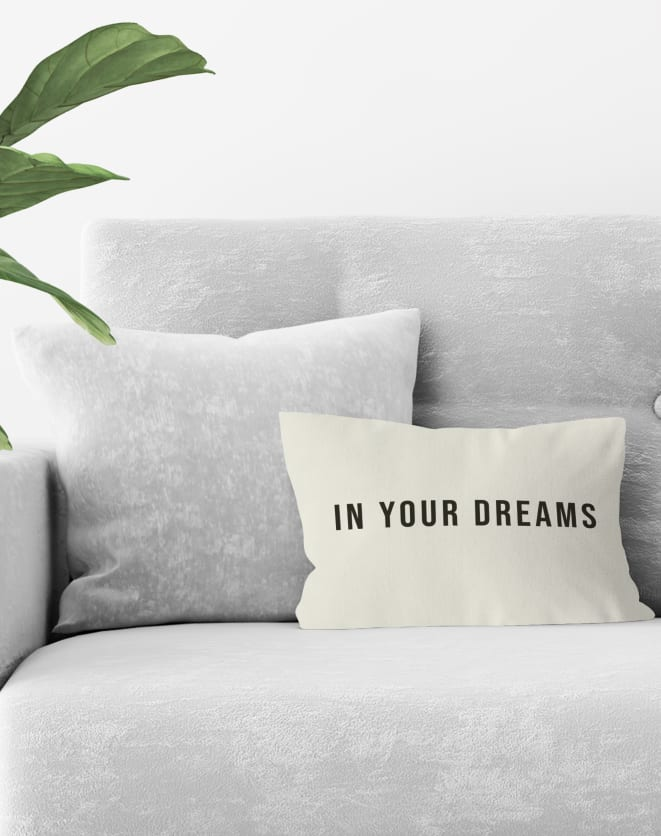DESIGN UP LIVING CAPA DE ALMOFADA IN YOUR DREAMS 42X30