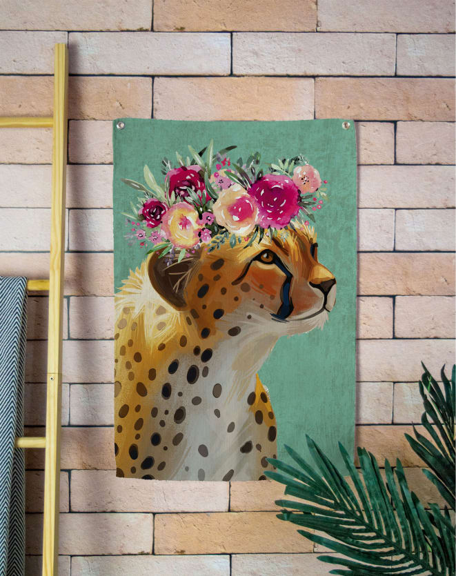 DESIGN UP LIVING TAPESTRY WALL 65X45