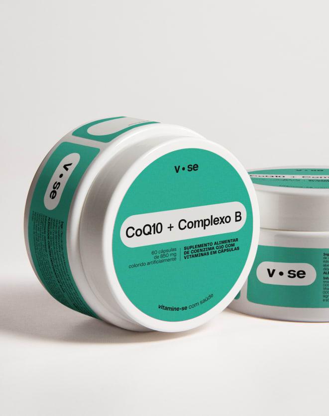 VITAMINE.SE COQ10 + COMPLEXO B - 60 CAPS.