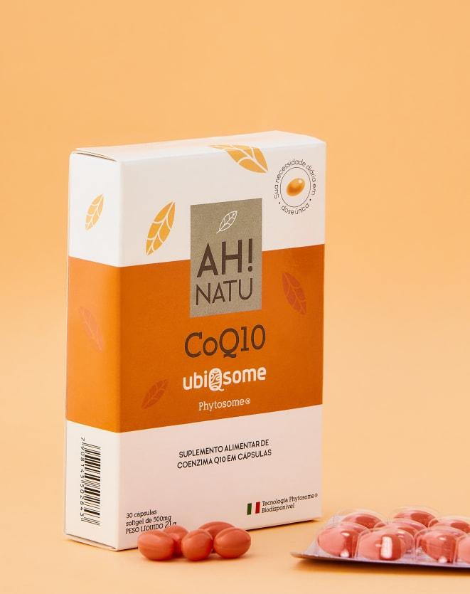 AH! NATU COENZIMA Q10 PHYTOSOME - 30 CAPS
