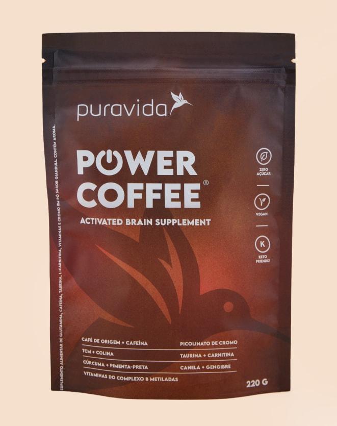 PURAVIDA POWER COFFEE - 220G