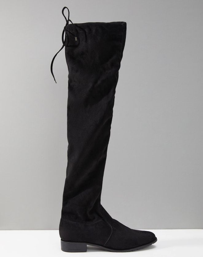 BOTA FLAT OVER THE KNEE SUEDE STRETCH