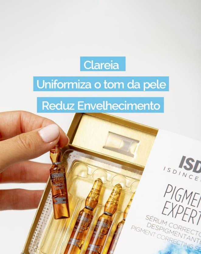 ISDINCEUTICS SÉRUM FACIAL CLAREADOR PIGMENT EXPERT 30 UNIDADES DE 2ML