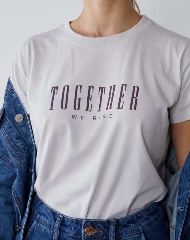 T-SHIRT TOGETHER WE RISE