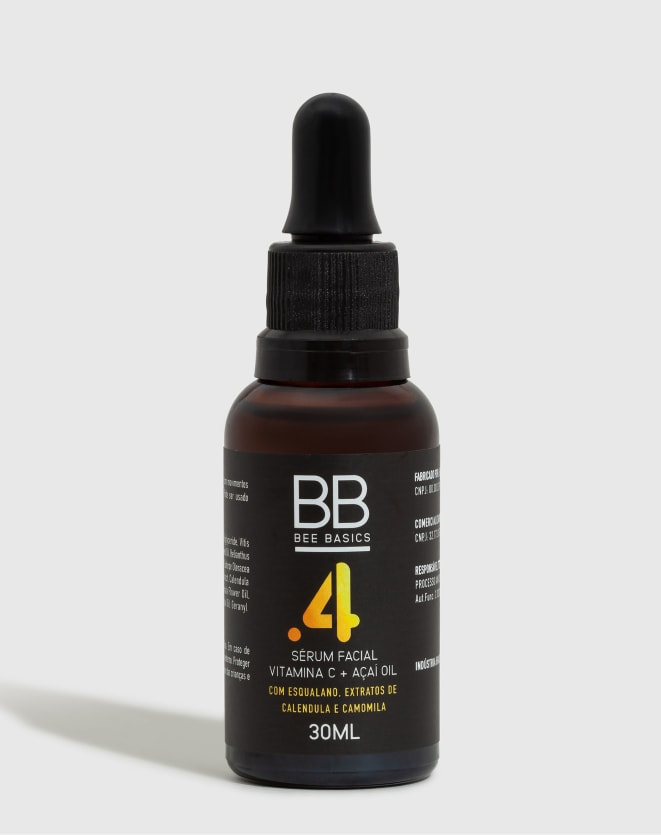BEE BASICS SERUM VITAMIN C + ACAI OIL - 30ML