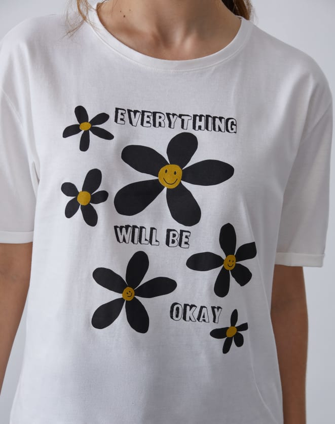 T-SHIRT EVERYTHING WILL BE OK