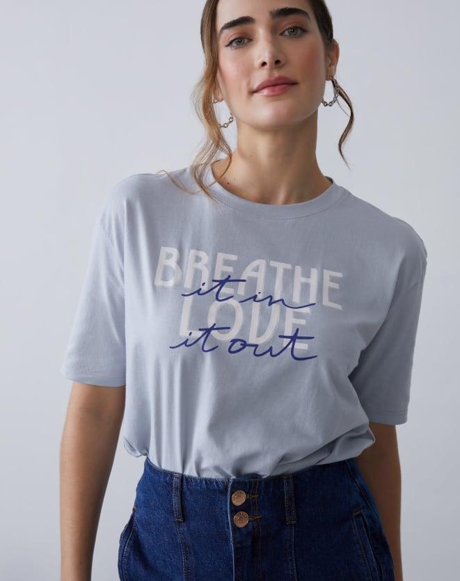 T-SHIRT BREATH LOVE