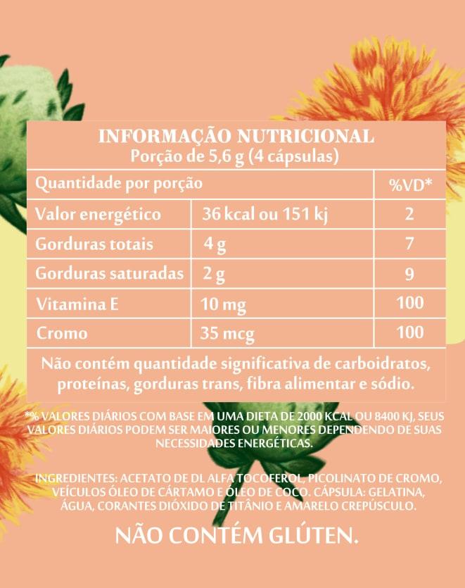 SIMPLES&SAUDÁVEL LIPOFLEX PICOLINATO DE CROMO - 60 CÁPSULAS