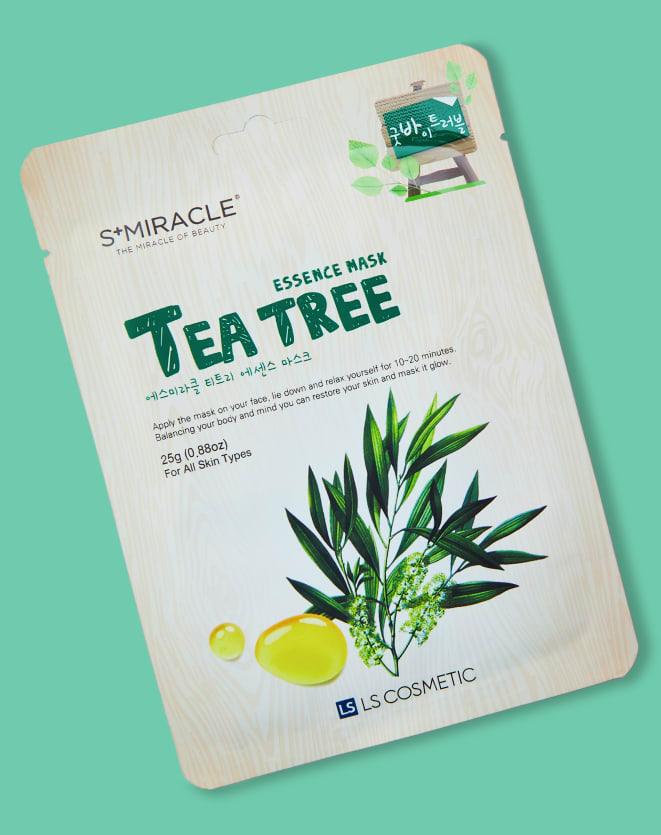S MIRACLE MÁSCARA FACIAL TEA TREE ESSENCE MASK