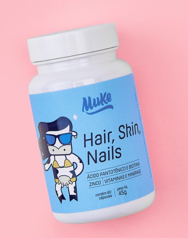MUKE HAIR SKIN NAILS (60 CÁPSULAS) - 45G