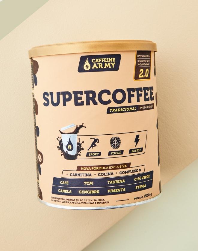 CAFFEINE ARMY SUPERCOFFEE TRADICIONAL - 220G