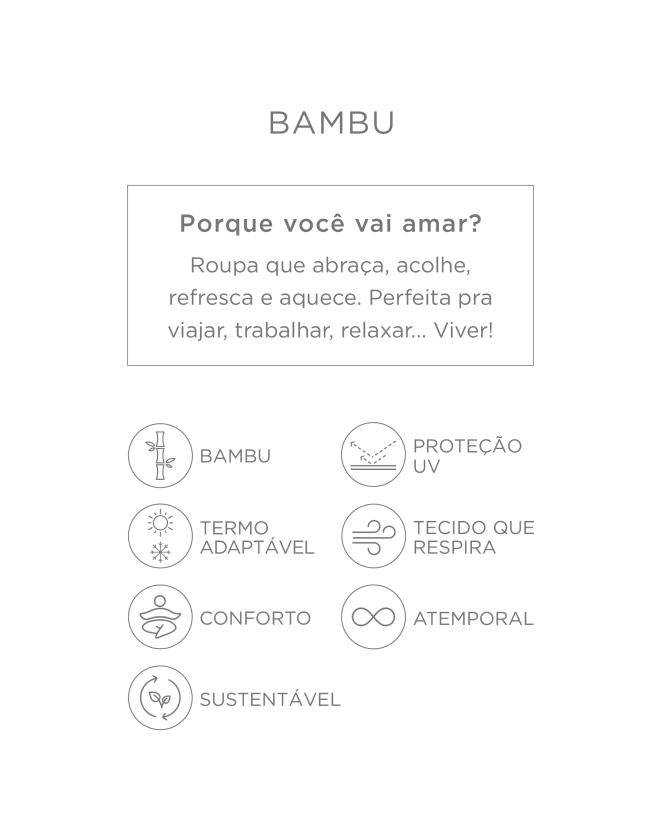 YOGINI CALÇA MOLETOM BAMBU PANTACOURT