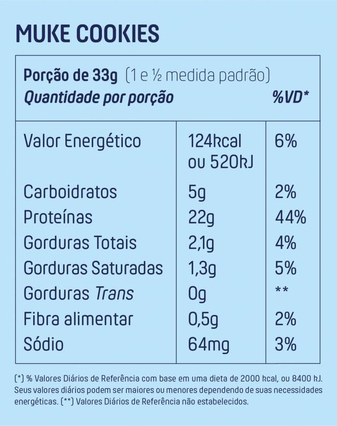 MUKE WHEY ISOLADO E HIDROLISADO - GARRAFINHA 33G