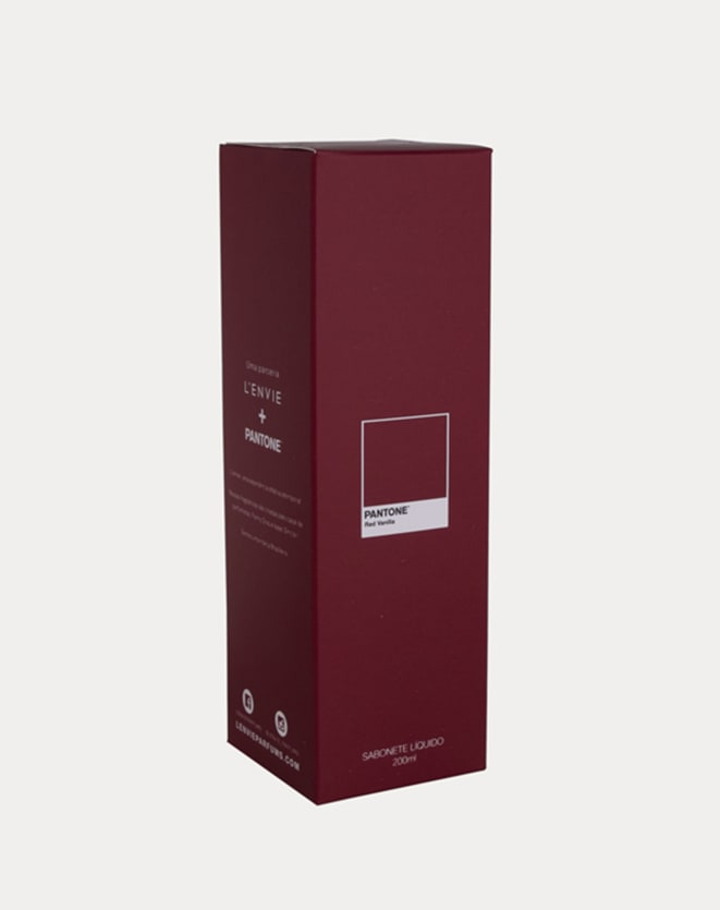L'ENVIE SABONETE LIQUIDO LENVIE + PANTONE - 200ML