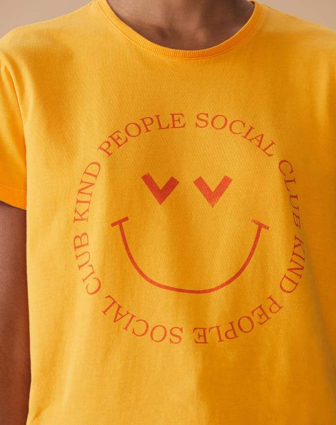 T-SHIRT REGULAR KIND PEOPLE SOCIAL CLUB