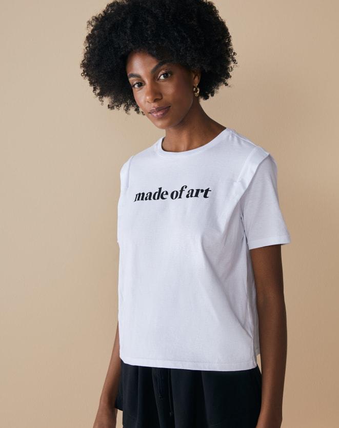T-SHIRT MADE OF ART