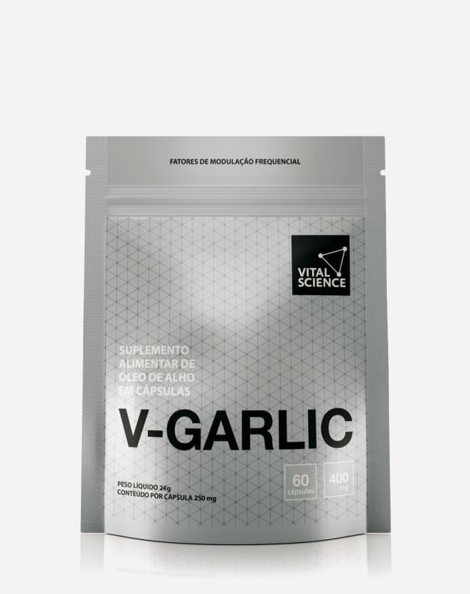 VITAL SCIENCE VITAMINA V-GARLIC
