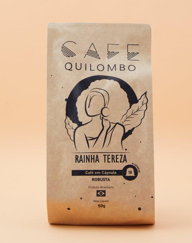 CAFÉ QUILOMBO RAINHA TEREZA - 10 CÁPSULAS