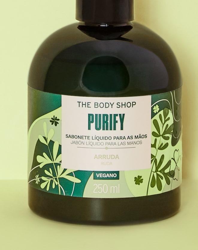 THE BODY SHOP SABONETE LÍQUIDO PARA MÃOS PURIFY - 250ML