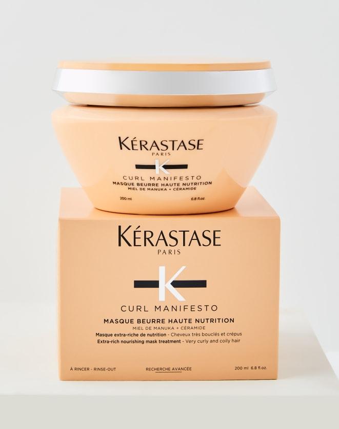 KÉRASTASE MÁSCARA BEURRE HAUTE NUTRITION MASQUE CURL MANIFESTO - 200ML