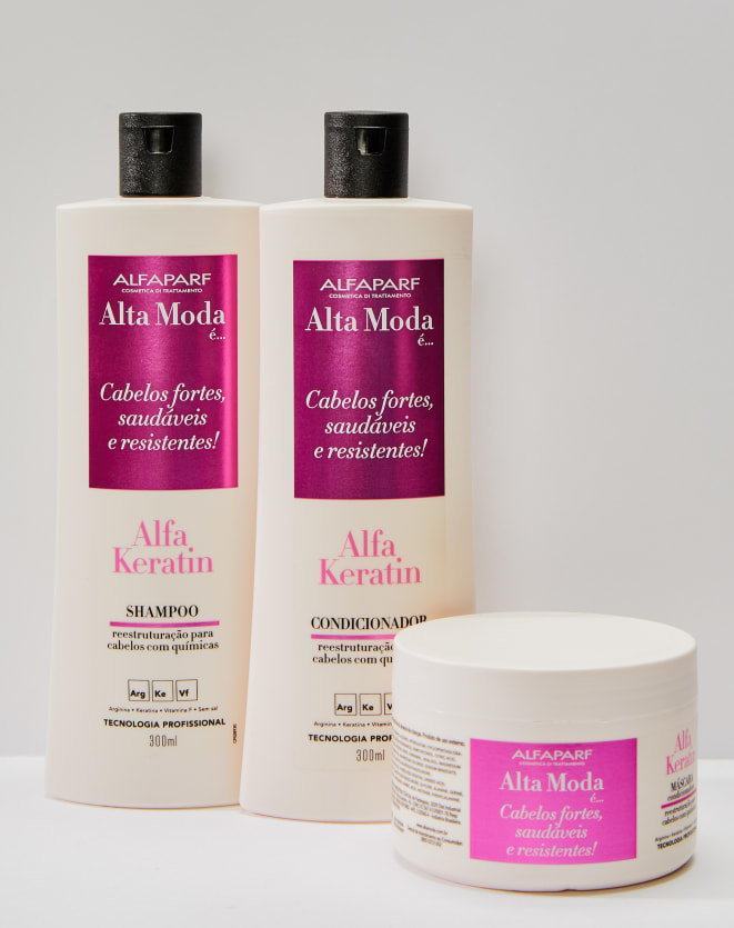 ALFAPARF ALTAMODA CONDICIONADOR ALFAKERATIN ALTA MODA - 300ML