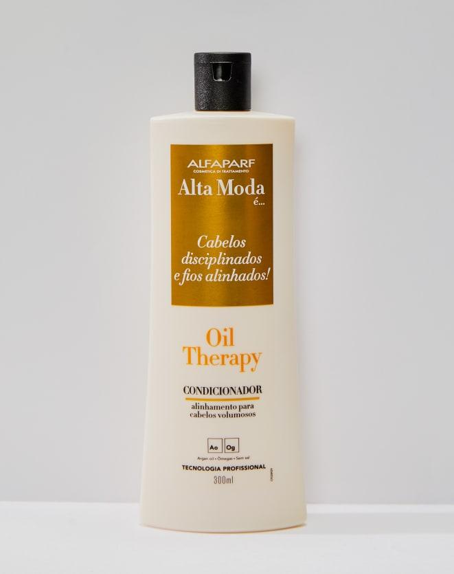 ALFAPARF ALTAMODA CONDICIONADOR OIL THERAPY ALTA MODA - 300ML