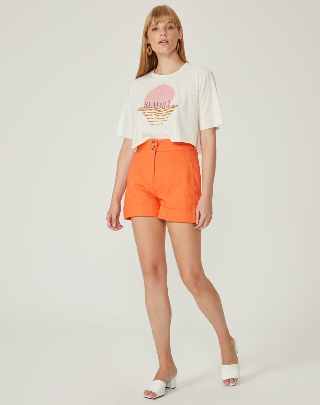 T-SHIRT CROPPED SUMMER